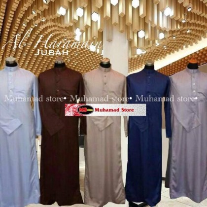 Al haramain Jubah Original Part 2 Dewasa (Bewarna)