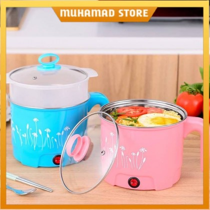1.8L Multifunction Stainless Steel Electric Pot Rice Cooker