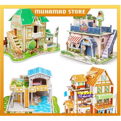 3D Puzzles For Children Toys Learning Education