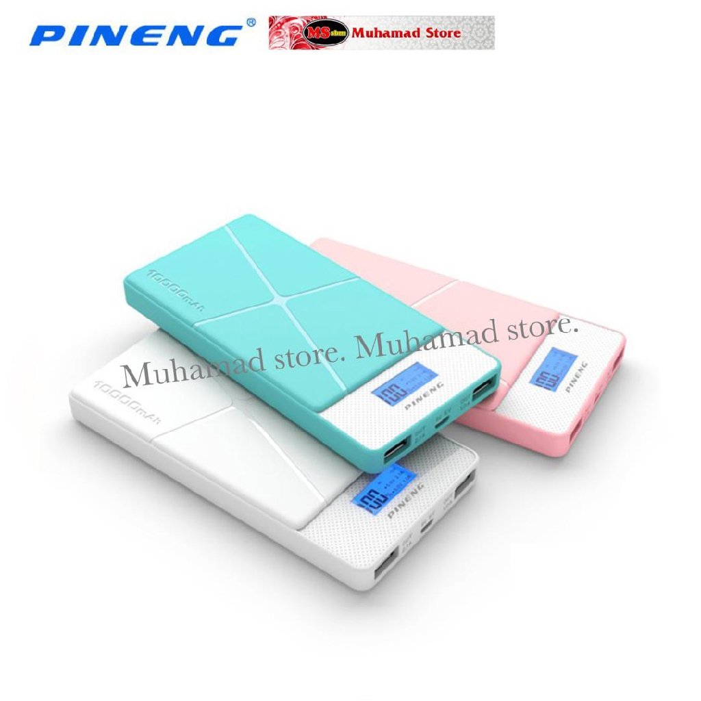 ORIGINAL !!! PINENG POWER BANK PN-983 (10,000mah)